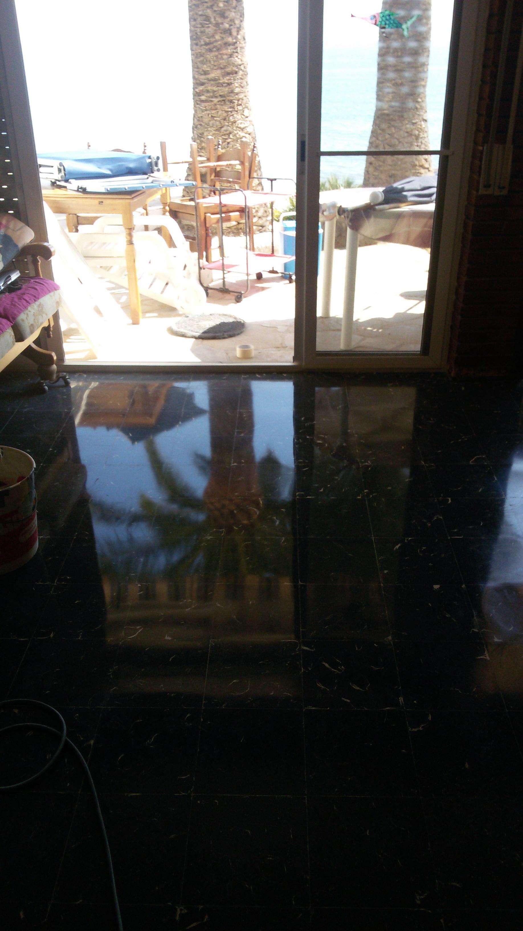 Reparamos suelos de mosaico hidráulico